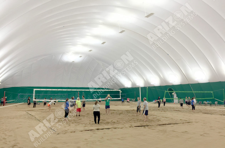 Volleyball Beach Kansas City Arizon Building Systems