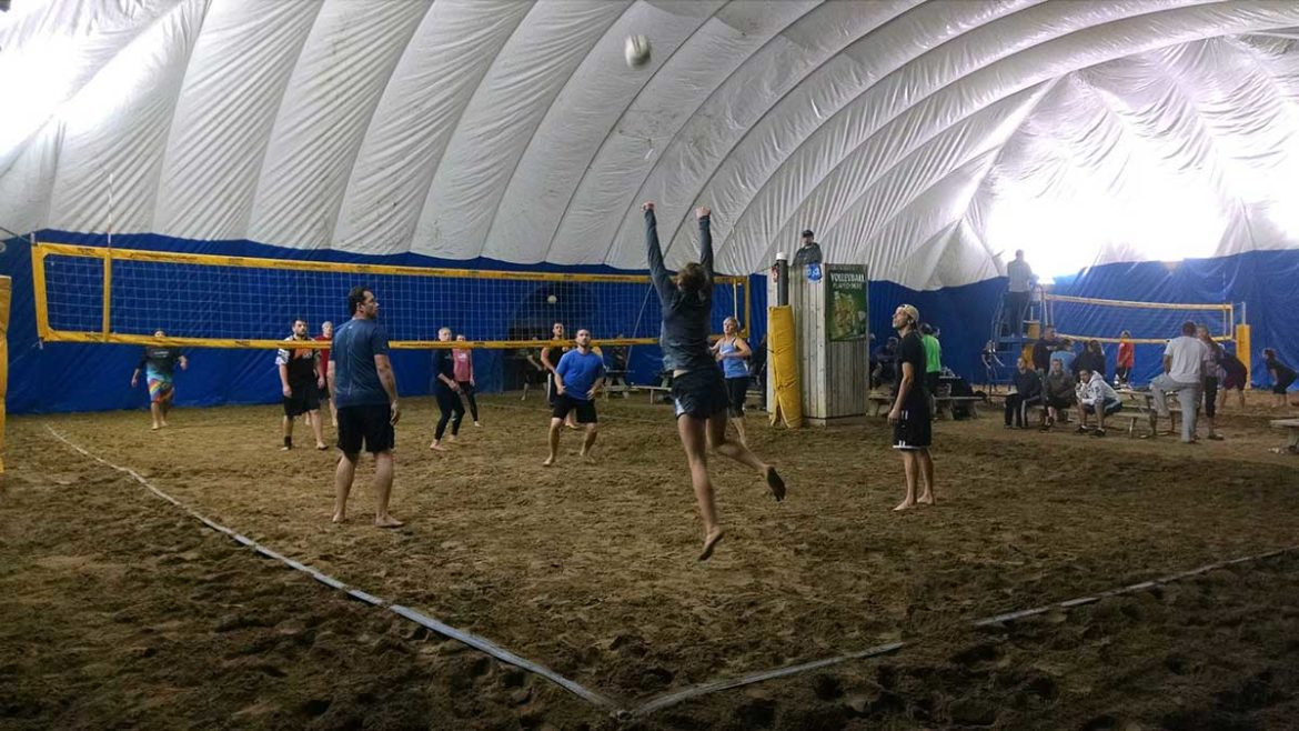 Arizon Building Systems Holiday Sports Bar & Volleyball