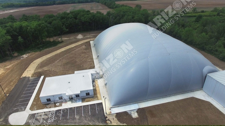 Trimble Testing Dome Arizon Building Systems