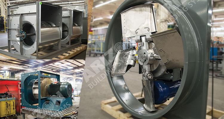 Air Handling Equipment - Dual Fans