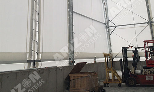 Aircraft Frame Fabric Structure Industrial Building