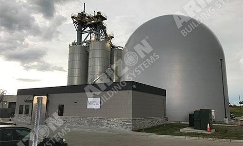 Industrial Concrete Dome Construction