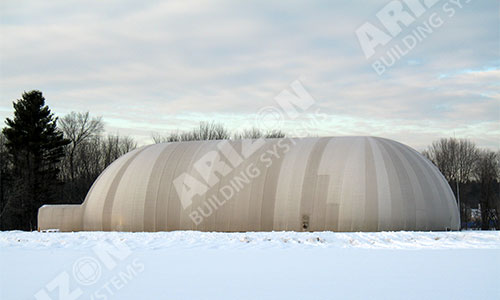 Electro-Magnetic Testing Industrial Cover Dome Building
