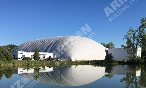 Equipment Testing Dome Industrial Building