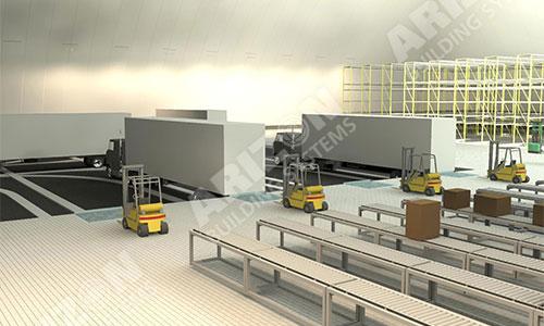 E-Commerce Fulfillment Industrial Building