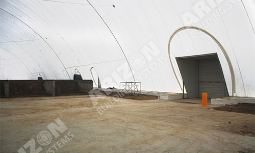 Waste Remediation Cover / Industrial Building