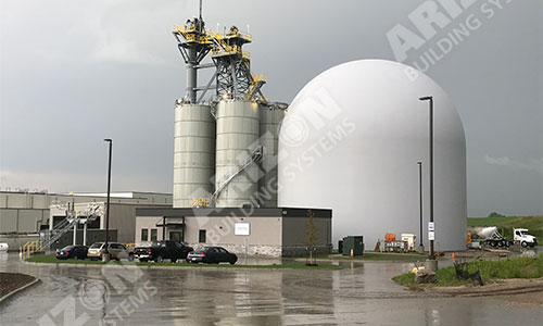 Concrete Dome Construction Fabric Industrial Building