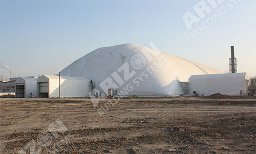 Waste Cover Dome Industrial Building