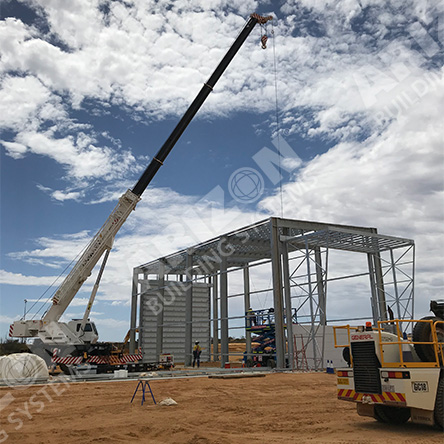 Rapid Install for Industrial Buildings