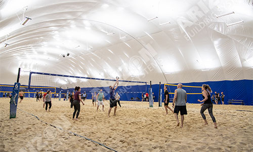 Indoor Sand Volleyball for Winter